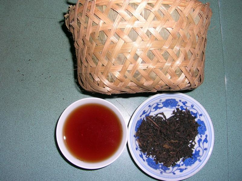 8297六安普洱籃茶